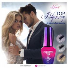 Hollywood Silver Top No Wipe Molly Lac 10 ml