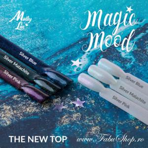 Magic Mood Silver Pink Top no wipe Molly Lac 10 ml
