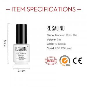 Oja Semipermanenta Rosalind Macaron 7ml - A909 Alb Laptos