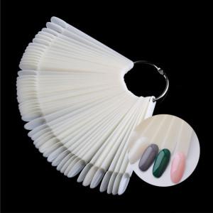 Paletar 50 tipsuri de prezentare Oval Natural