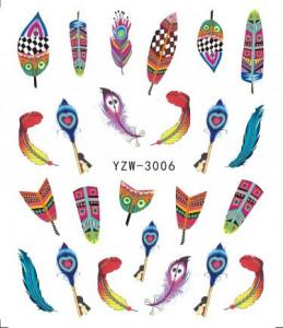 Tatuaje unghii YZW 3006