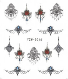Tatuaje unghii YZW 3016