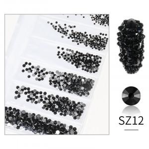 Cristale din sticla 1440 bucati mix marimi SZ12
