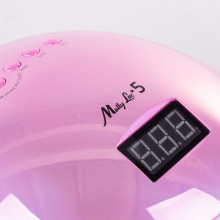 Lampa UV/LED 48W Alle Lux 5 Holografic Pink