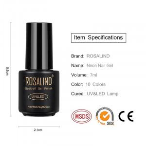 Oja Semipermanenta Rosalind NEON 7ml - A604