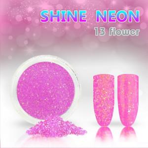 Shine Neon 13 Flower - Sclipici pentru unghii