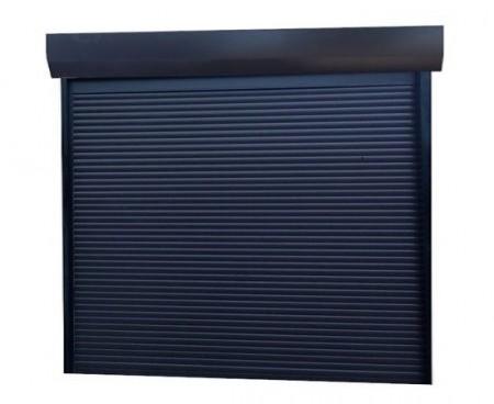 Usa garaj actionare manuala 1800 x 2200 , antracit 7016 , lamele 55 mm