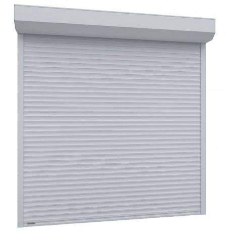 Usa garaj automata 3300 x 2500 , alb 9016 , lamele 77 mm
