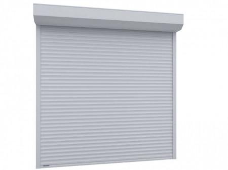 Usa garaj automata 3100 x 2900 , alb 9016 , lamele 55 mm