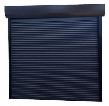 Usa garaj automata 3500 x 2300 , antracit 7016 , lamele 77 mm