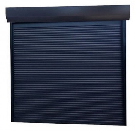 Usa garaj automata 2800 x 2500 , antracit 7016 , lamele 77 mm