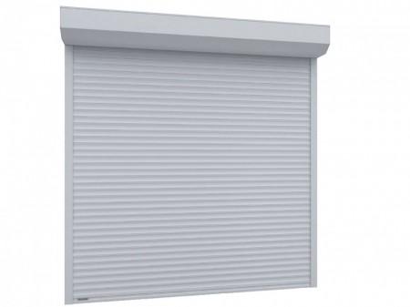 Usa garaj automata 2300 x 2200 , alb 9016 , lamele 55 mm