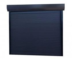 Usa garaj automata 2400 x 2400 , antracit 7016 , lamele 55 mm