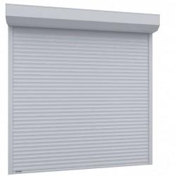 Usa garaj actionare manuala 3000 x 2200 , alb 9016 , lamele 55 mm