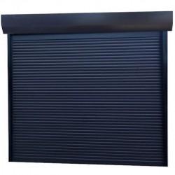 Usa garaj actionare manuala 2200 x 2500 , antracit 7016 , lamele 55 mm