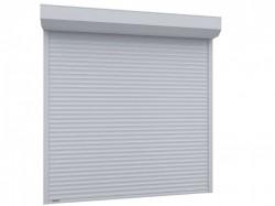 Usa garaj automata 3000 x 4000 , alb 9016 , lamele 77 mm