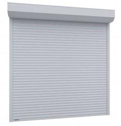 Usa garaj automata 4000 x 2500 , alb 9016 , lamele 77 mm