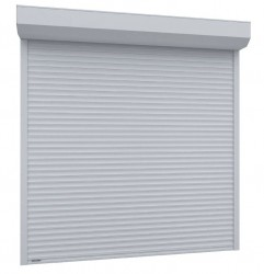 Usa garaj automata 4500 x 2500 , alb 9016 , lamele 77 mm