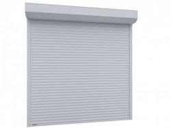Usa garaj automata 3500 x 2500 , alb 9016 , lamele 77 mm