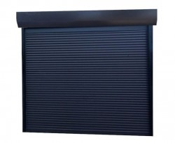 Usa garaj automata 2800 x 2300 , antracit 7016 , lamele 55 mm