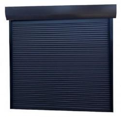 Usa garaj automata 3500 x 4000 , antracit 7016 , lamele 77 mm