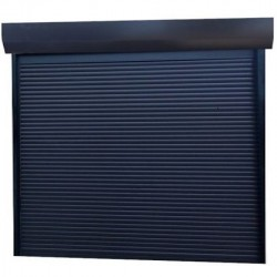 Usa garaj actionare manuala 2800 x 2200 , antracit 7016 , lamele 55 mm