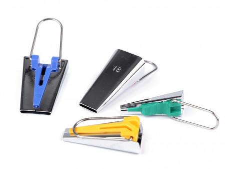 Dispozitiv pentru confecționat bandă bias, lățime 6; 12; 18; 25 mm