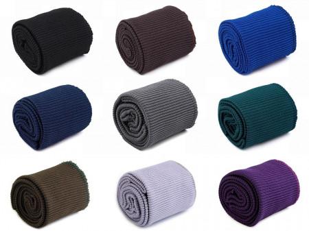 Set bordură și manșete elastice tricotate, lățime 7 cm
