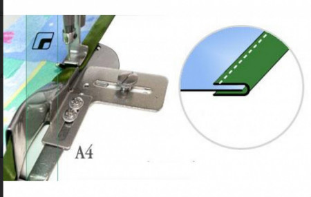 Dispozitiv aplicat banda preformata A4