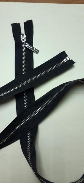 Fermoar metalic T5 100cm Nickel