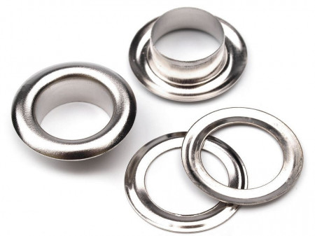 Ocheți metalici, Ø10 mm
