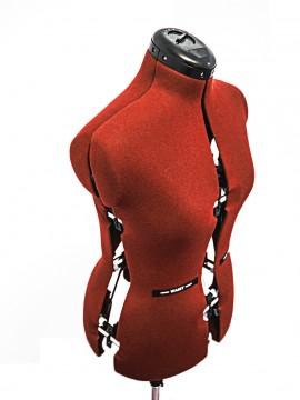 Manechin de croitorie - femei ADJUSTOFORM cu marimi reglabile in 4 parti S Small (marimi 32-42)