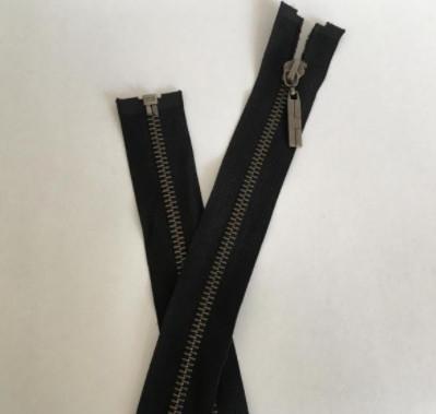 Fermoar metalic T5 100cm negru