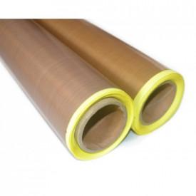 Folie banda teflon 0.13mm cu adeziv, pentru masina de lipit, vidat, ambalat, presa termica