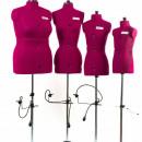 Manechin de croitorie - femei marimi mari ADJUSTOFORM cu marimi reglabile F Full Figure