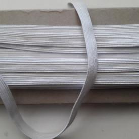 Elastic Oradea 8 mm, alb