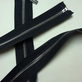 Fermoar metalic T5 75cm Nickel