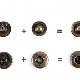 Capse metalice, Ø12 mm