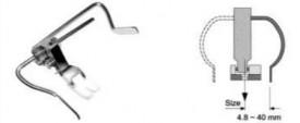 PICIORUS de matlasare cu limitator interschimbabil pe stinga si pe dreapta