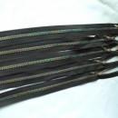 Fermoar plastic, efect curcubeu, lungime 70 cm