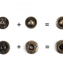 Capse metalice, Ø10 mm