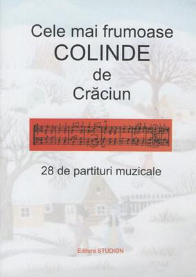 Cele mai frumoase COLINDE de Craciun-28 de partituri muzicale