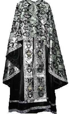 Veșmânt Ortodox Negru
