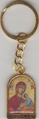 Brelocuri metalice diferite forme si sfinti