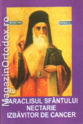 Cinstitul Paraclis al celui intre sfinti Parintele nostru Sf. Ierarh Nectarie Taumaturgul - Izbavitorul de cancer(9 noiembrie)