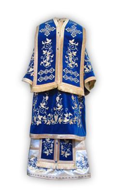 Veșmânt Episcopal din Bumbac -catifea - brodat