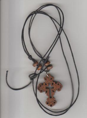 Cruce din lemn cu ata-3cmx4cm