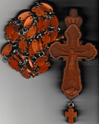 Cruce pectorala din lemn
