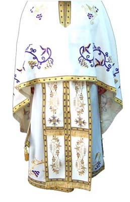 Vesmant pentru Preotul Ortodox brodat