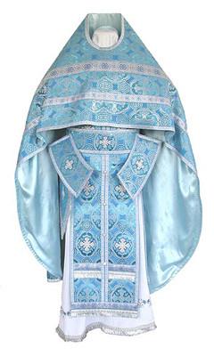 Vesmant pentru preot cu broderie metalica ruseasca